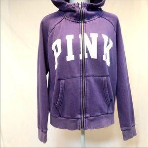 Victoria's Secret pink sweatshirt large hoodie